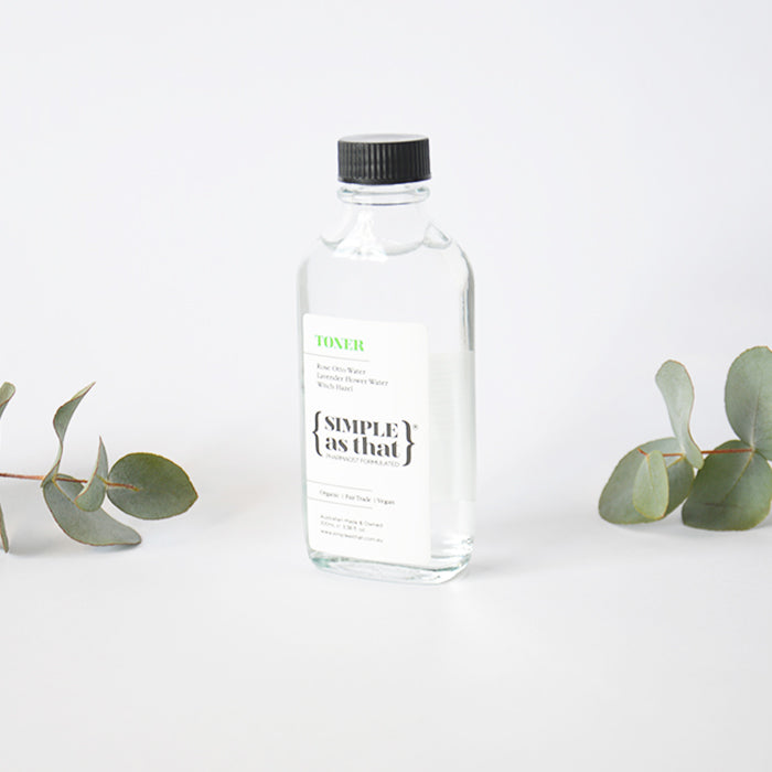 Simple as that Toner Organic Fair Trade Australian Made