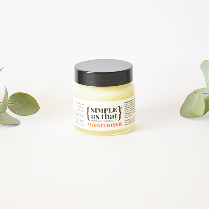Simple as that organic fair trade moisturiser