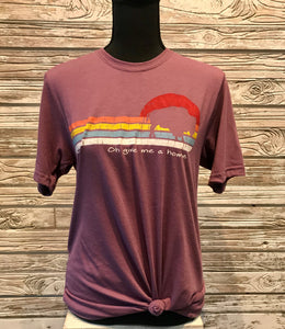 Mauve Graphic Tee