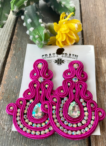 Cord Earrings
