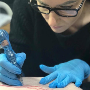 Dry Tattooing Training.  Botched Ink Saline Tattoo Removal Training