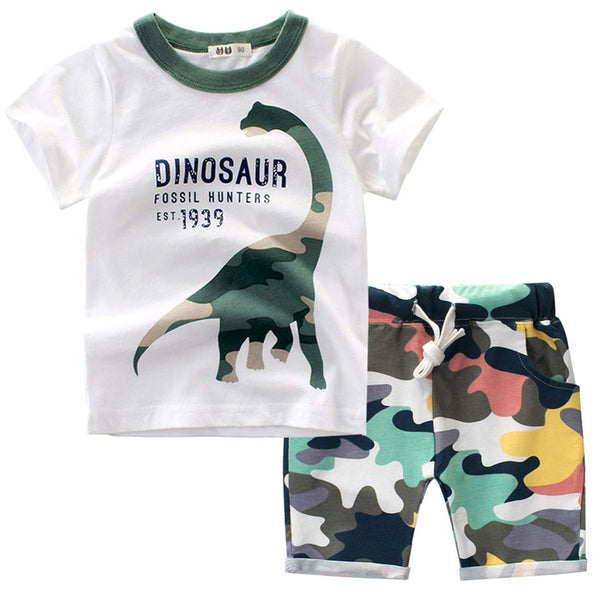Boys T-Shirt Short Set