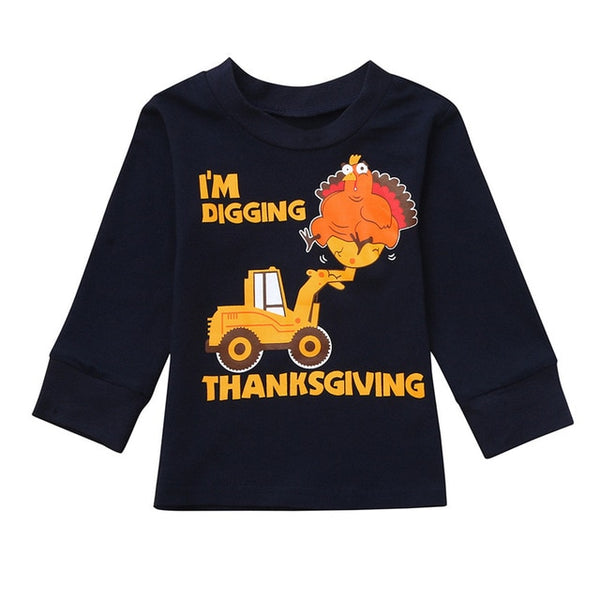 Toddler Thanksgiving Day Shirt