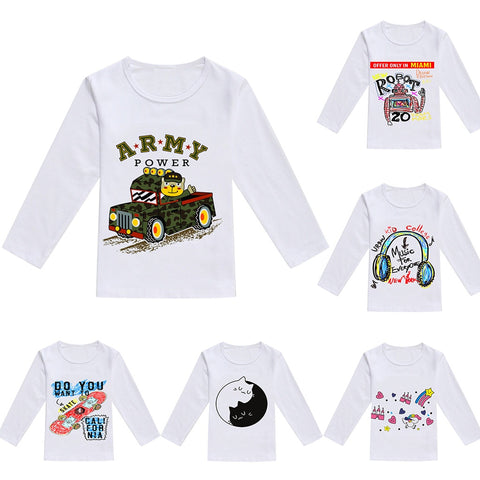 Fashion Graphic Long Sleeve Shirts