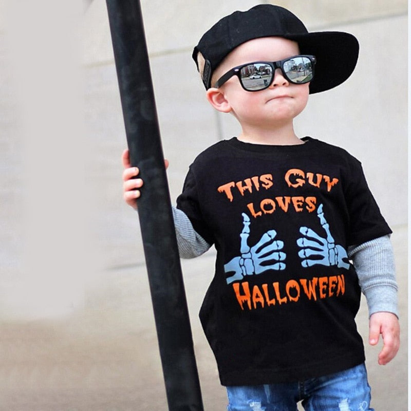 This guy loves Halloween Shirt