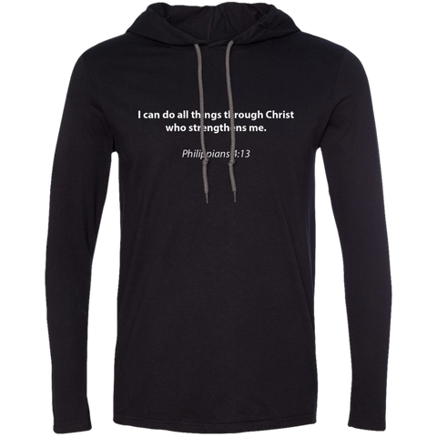 Christian Hoodie - Philippians 4:13
