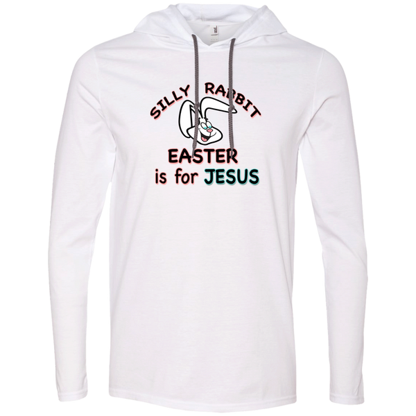 Christian Hoodie - Silly Rabbit Easter is for Jesus