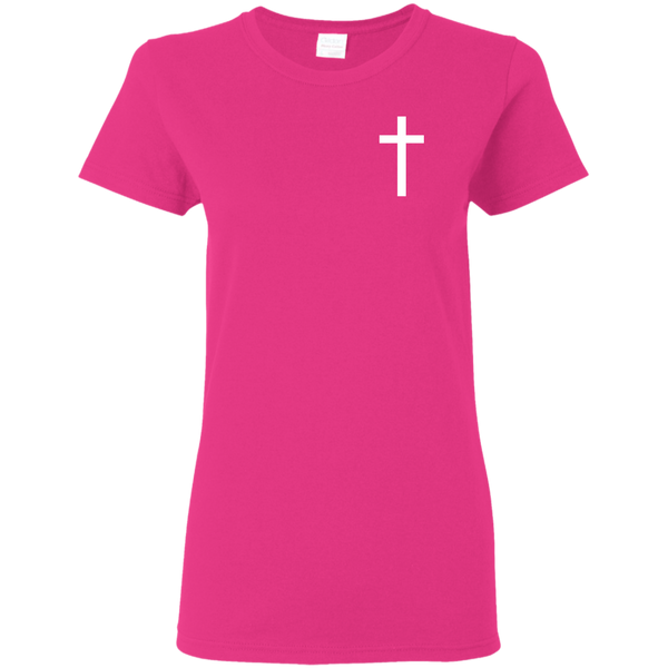 Christian T-Shirt - White Cross
