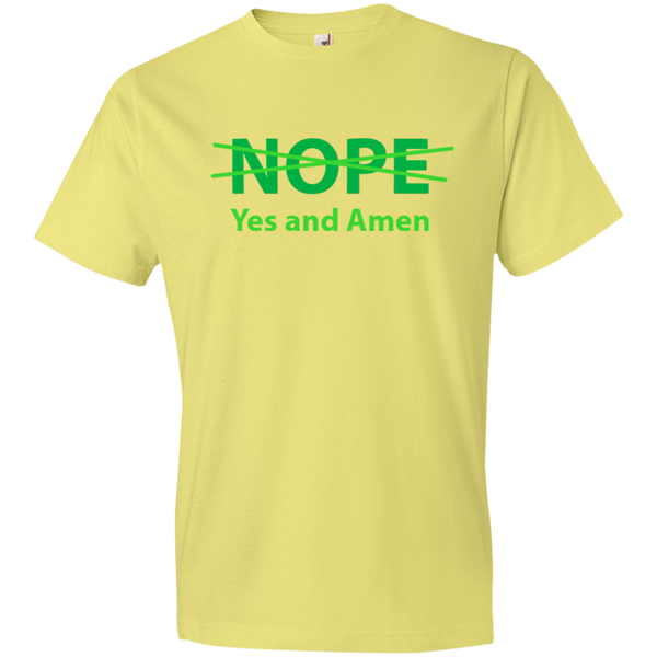 Christian T-Shirt - NOPE. Yes and Amen!