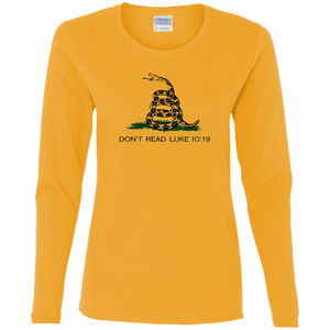 Christian Long Sleeve - Don't Tread On Me