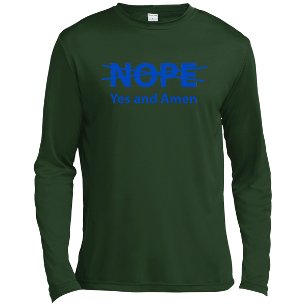 Christian Long Sleeve - NOPE. Yes and Amen!