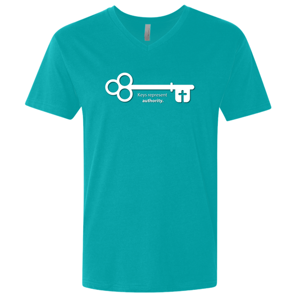 Christian T-Shirt - Keys Represent Authority