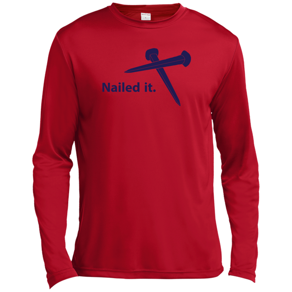 Christian Long Sleeve - Nailed It