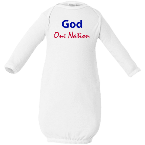 One Nation Under God Baby Layette