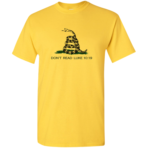 Christian T-Shirt - Don't Tread On Me