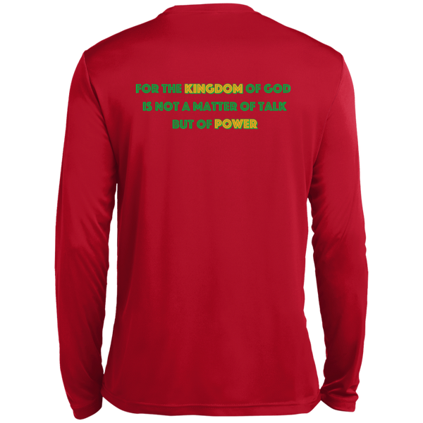 Christian Long Sleeve - 1 Corinthians 4:20
