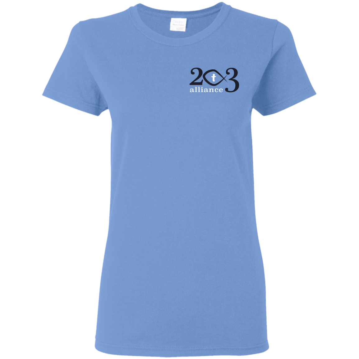 203 Alliance Ladies  T-Shirt