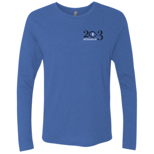 203 Alliance Men's Triblend LS Crew