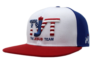 The Jesus Team - Snapback Hat