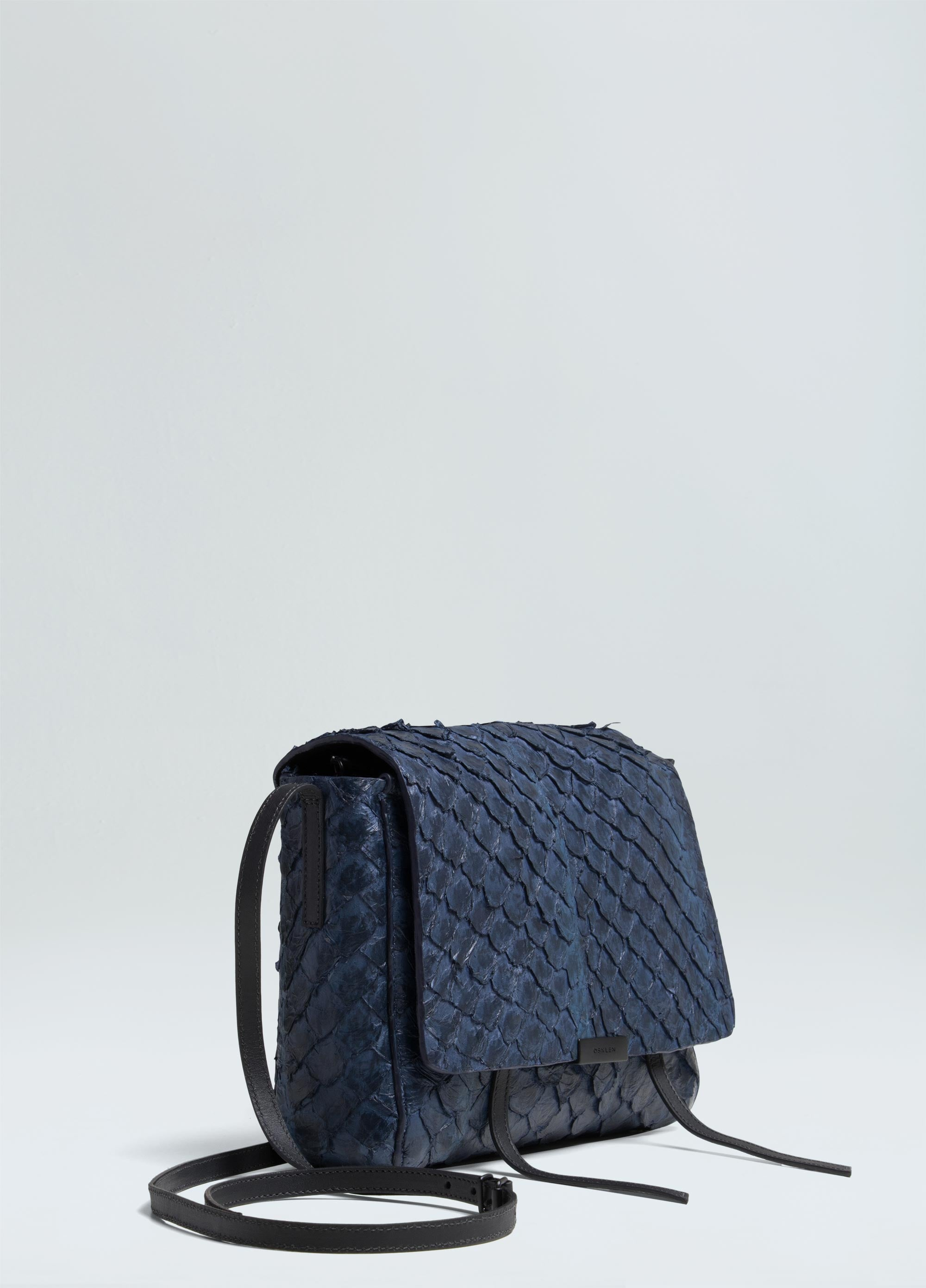 PIRARUCU FLAP SHOULDER BAG