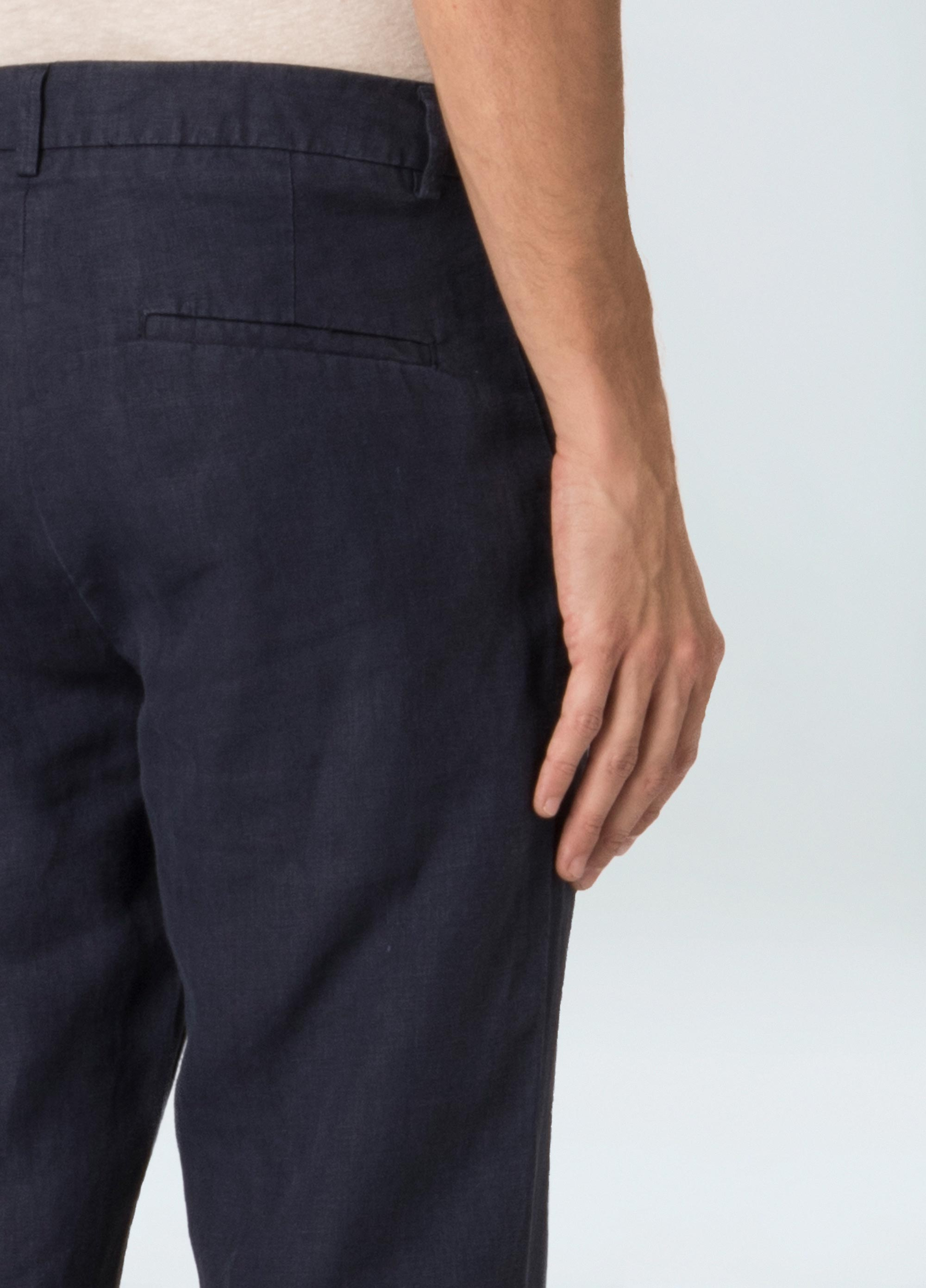 Linen Tailored Pants