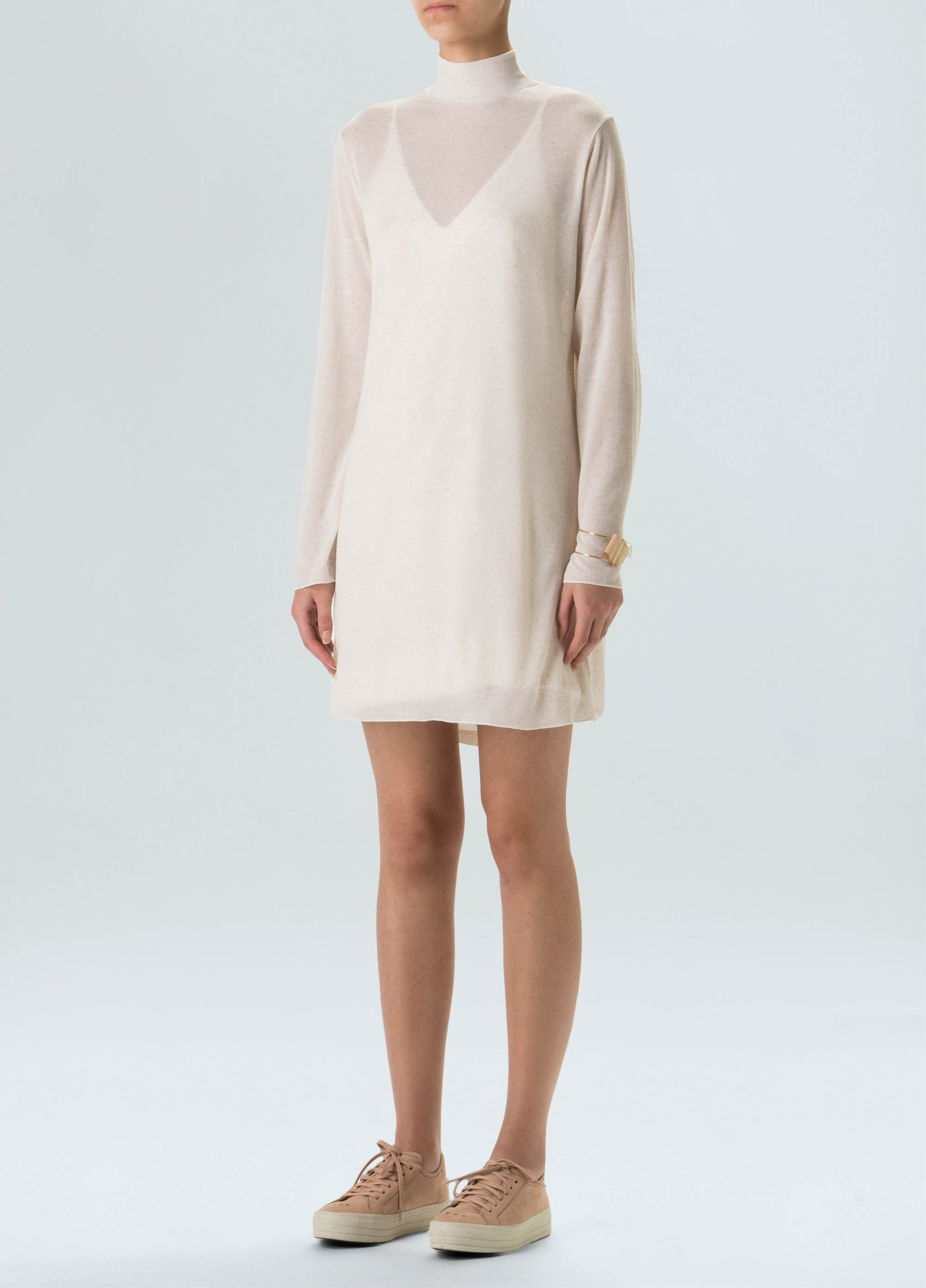 E-Basics Thin Rib Dress