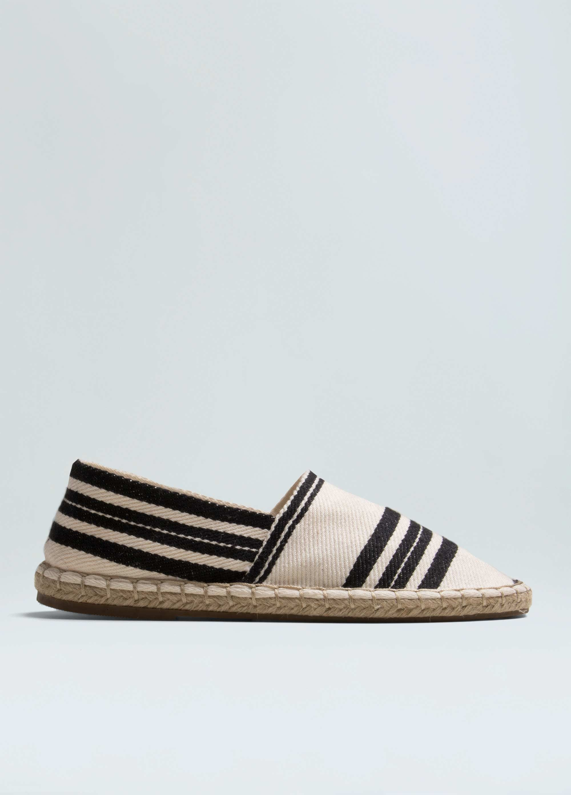 Women's Striped Eco Espadrille