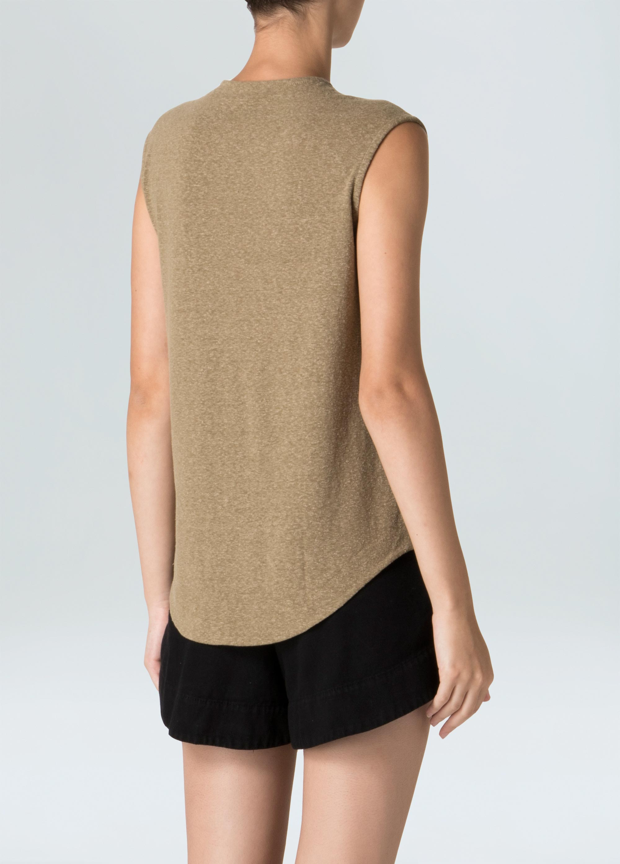 E-Basics Sleeveless T-Shirt