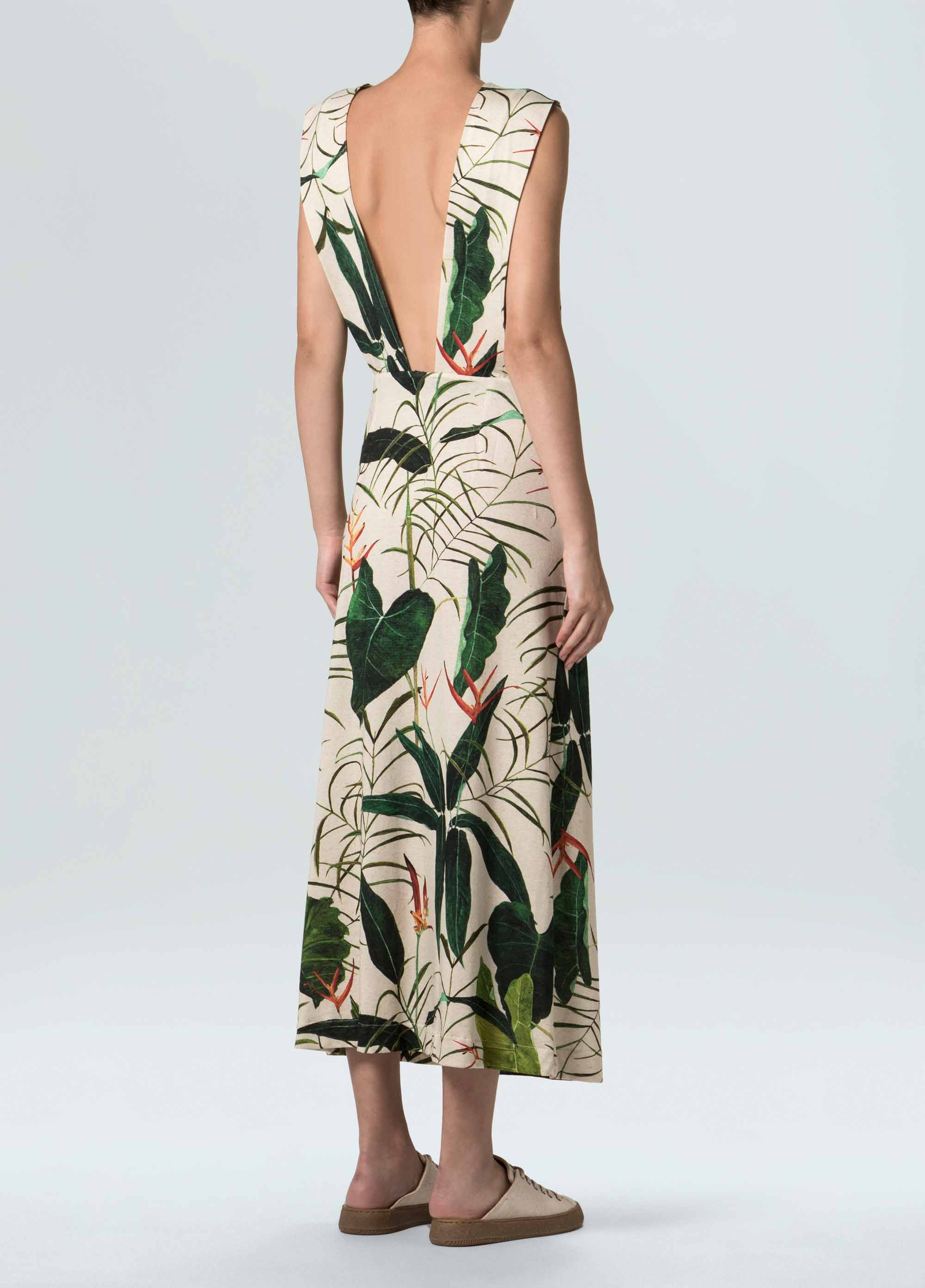 Women's Rustic Heliconia Dress