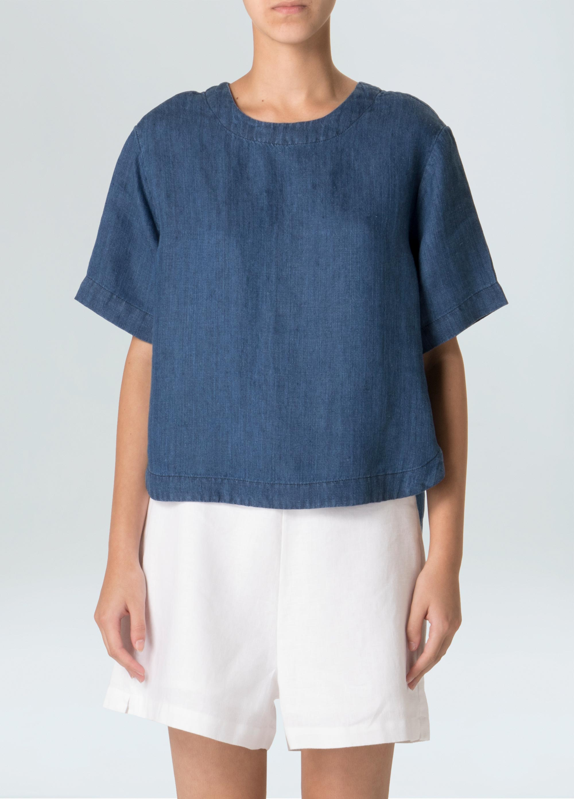 T-Shirt Linen Denim