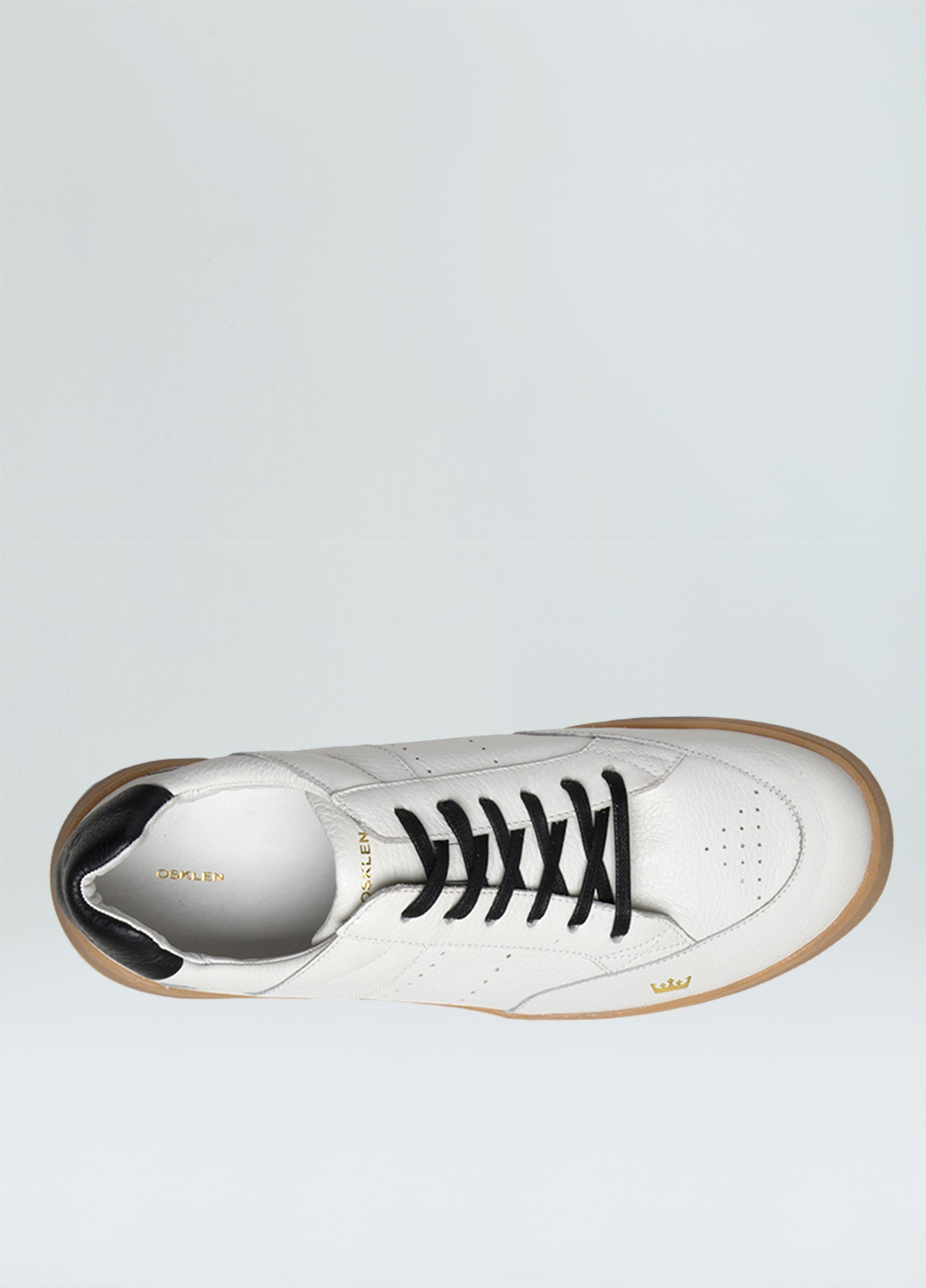MENS SOHO STREET LEATHER SNEAKERS