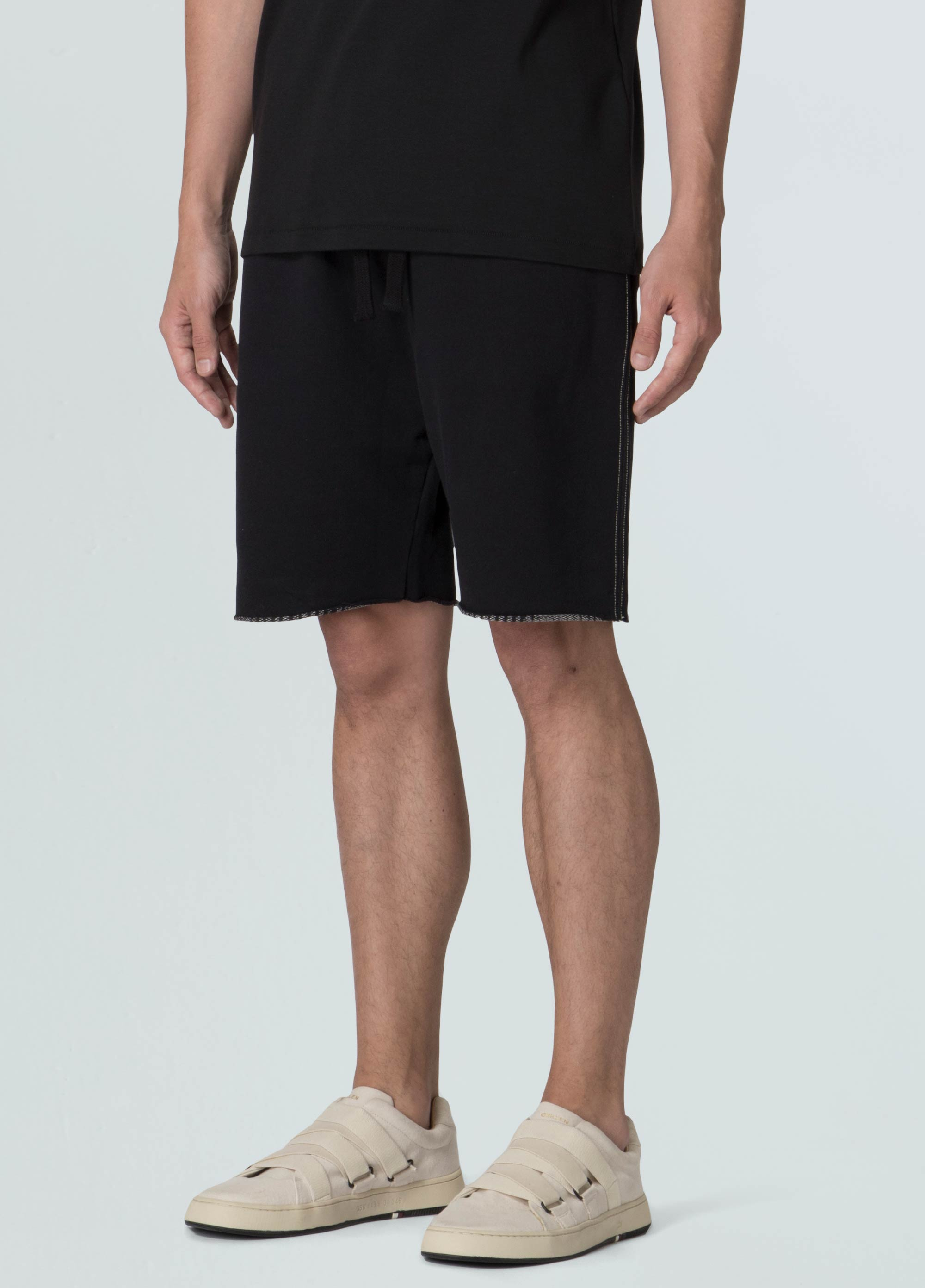 Double Pirarucu Spine Shorts