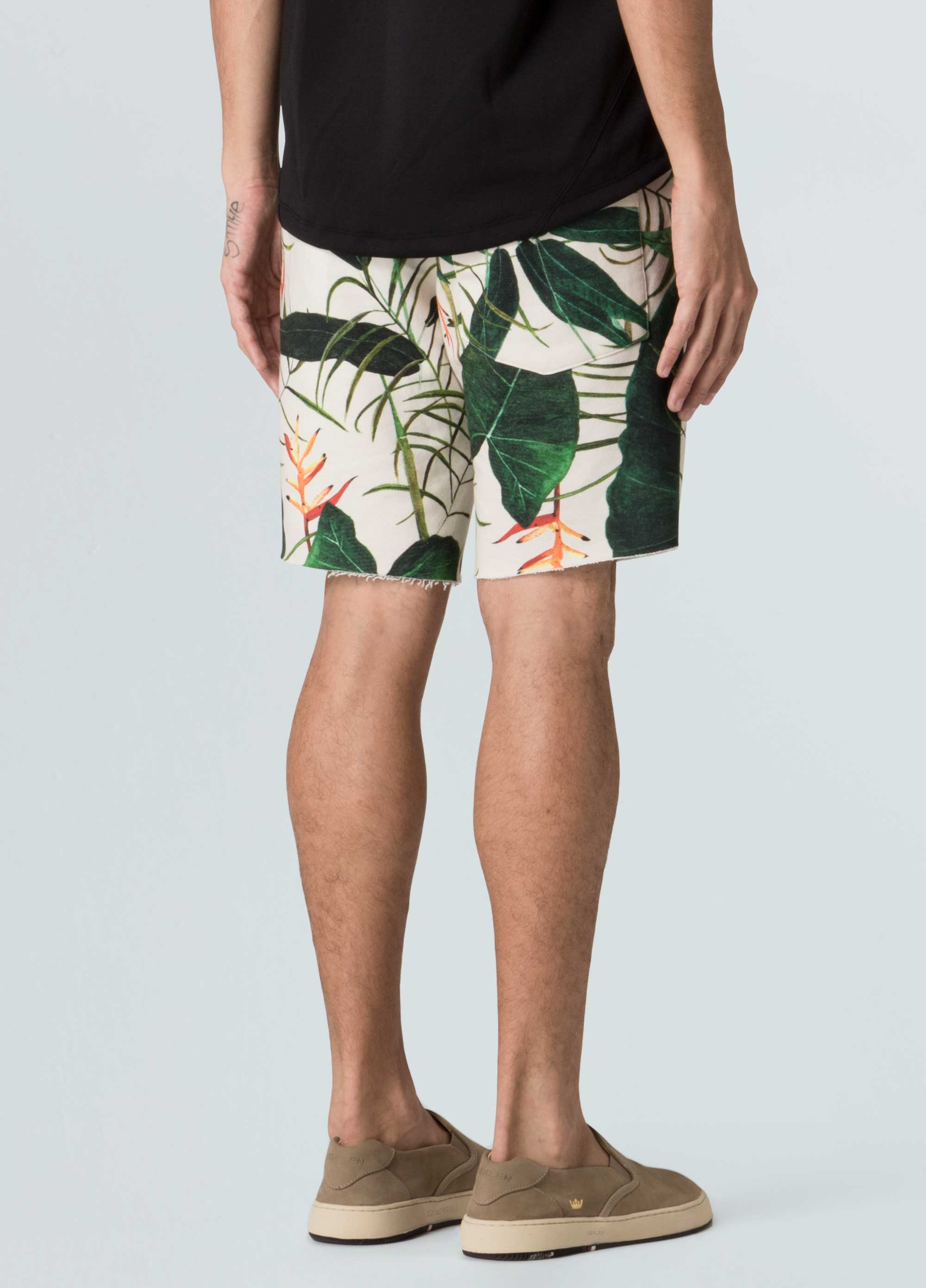Cotton Heliconia Shorts