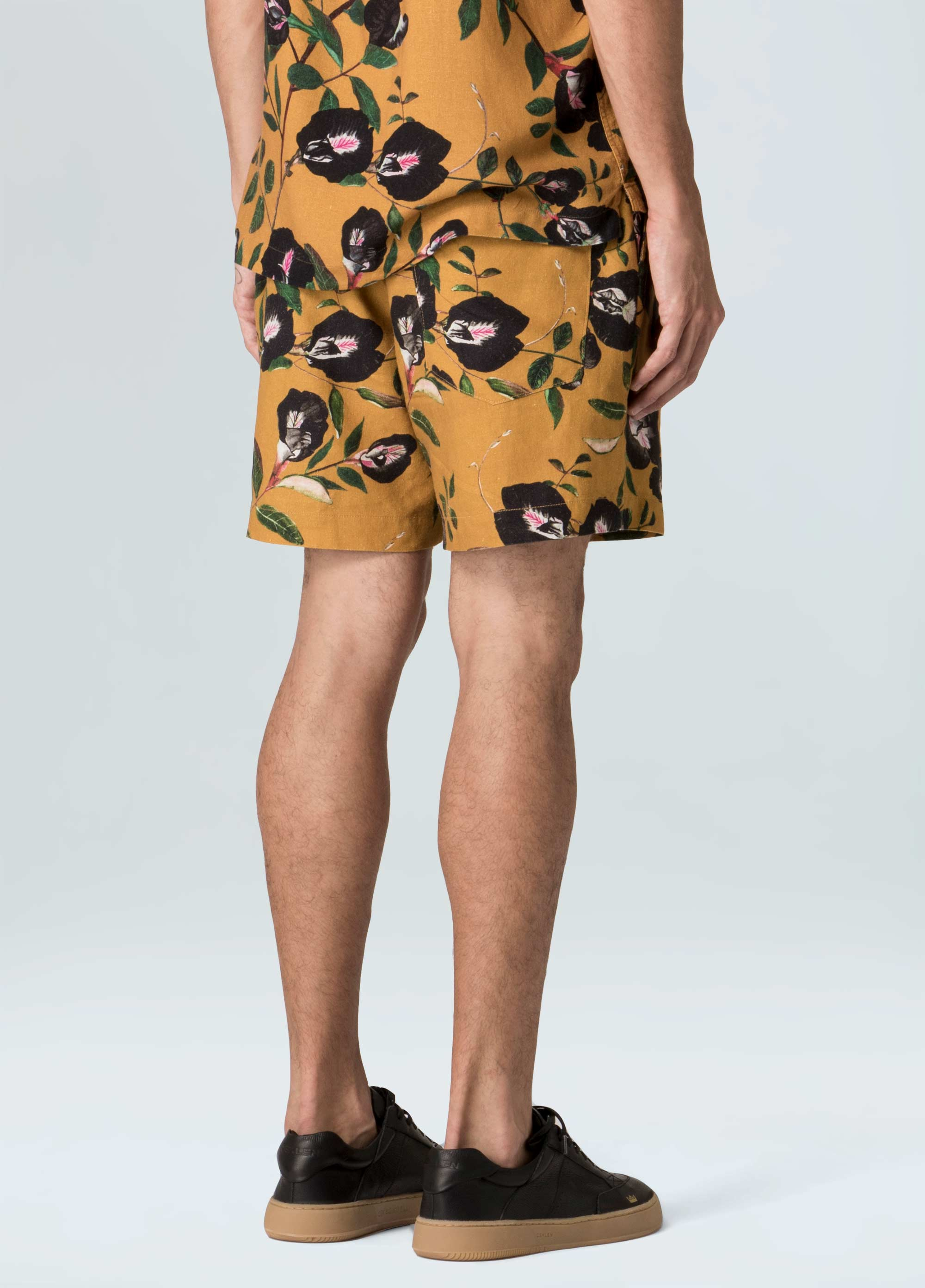 Yellow Pea Shorts