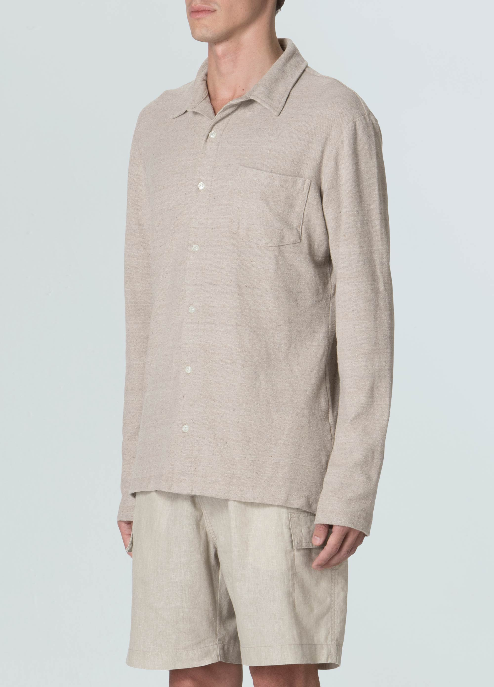 Eco Rustic Yoke Pocket Shirt