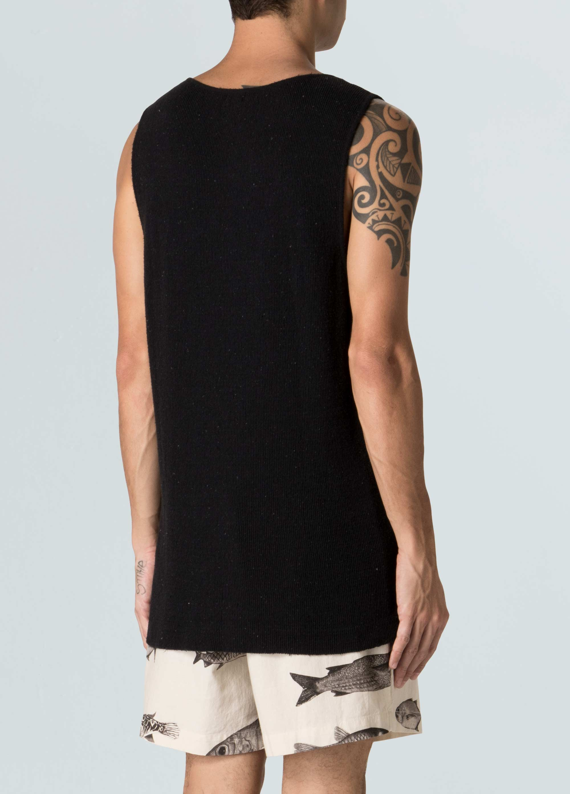 Scoop Neck E-Fabrics Tank Top