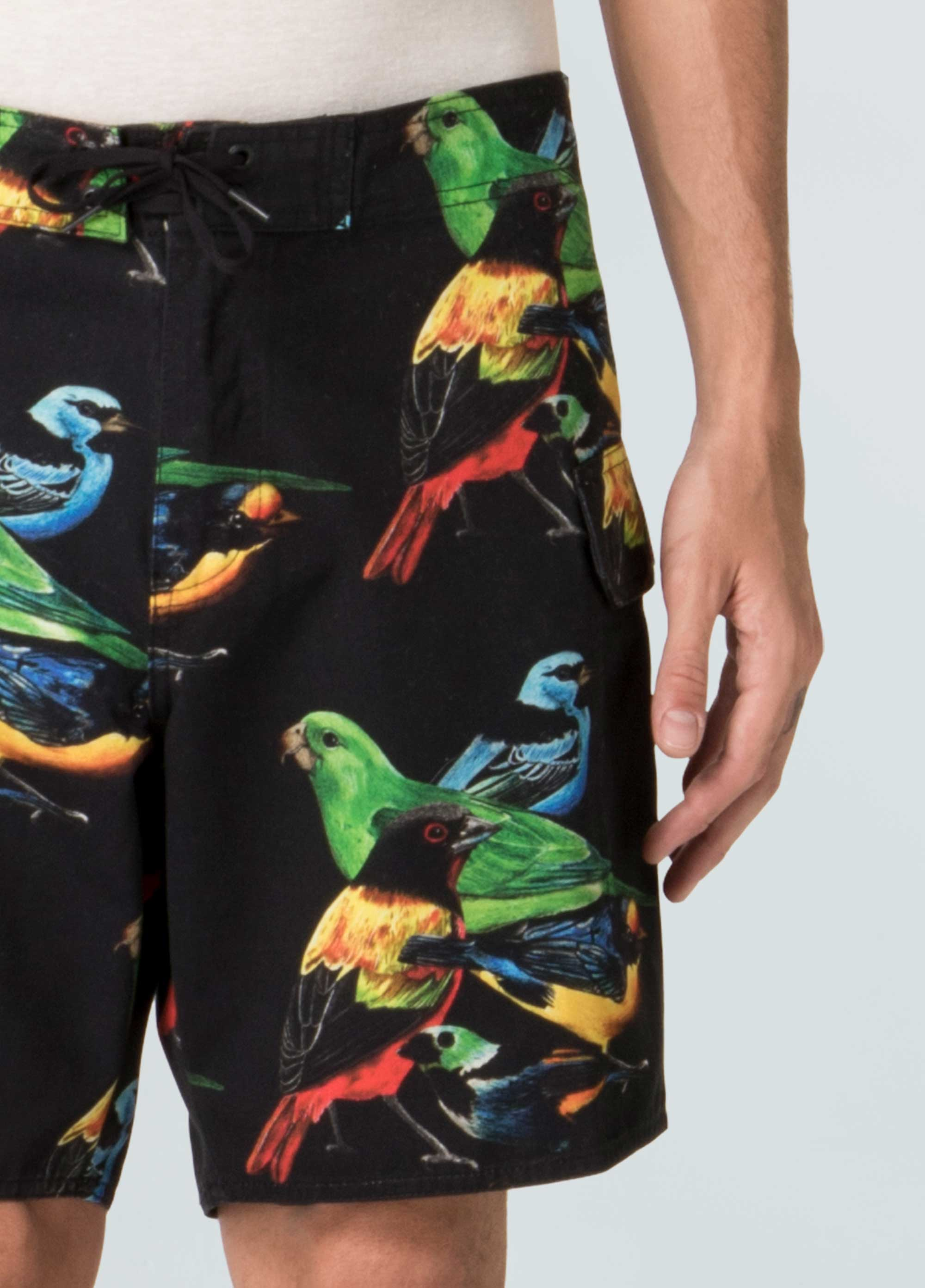 Tropical Birds Boardshorts