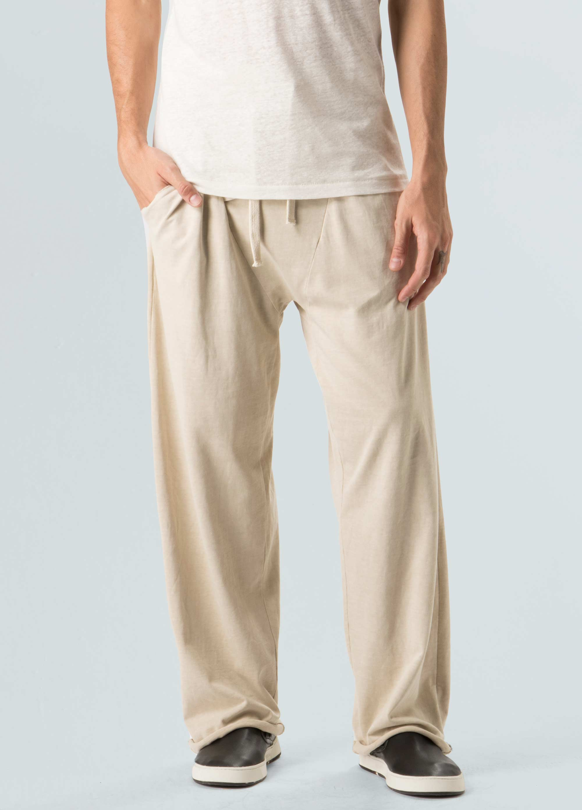 Nirvana Washed Cut Pocket Pants