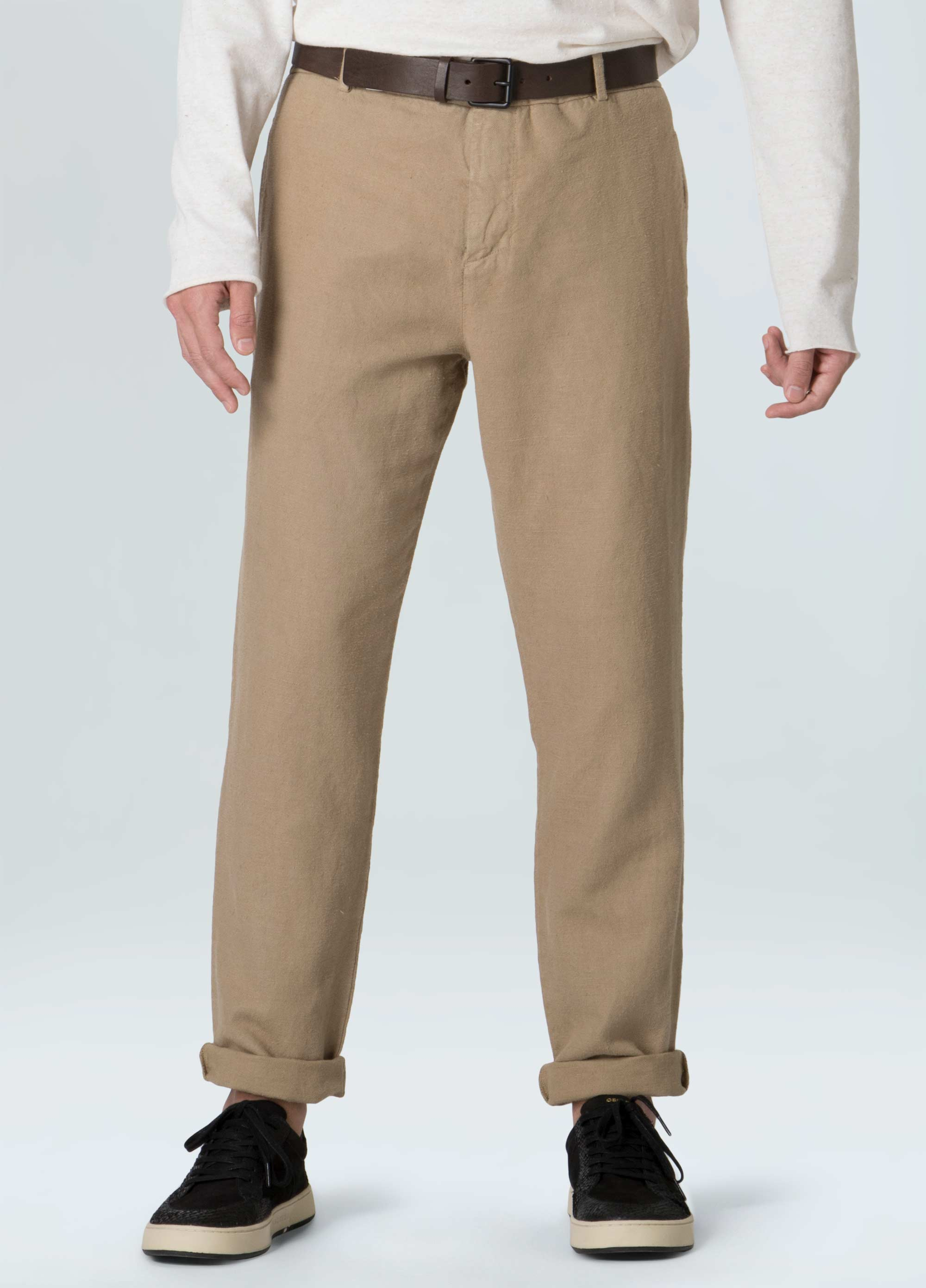 COTTON LINEN TAILORES PANTS