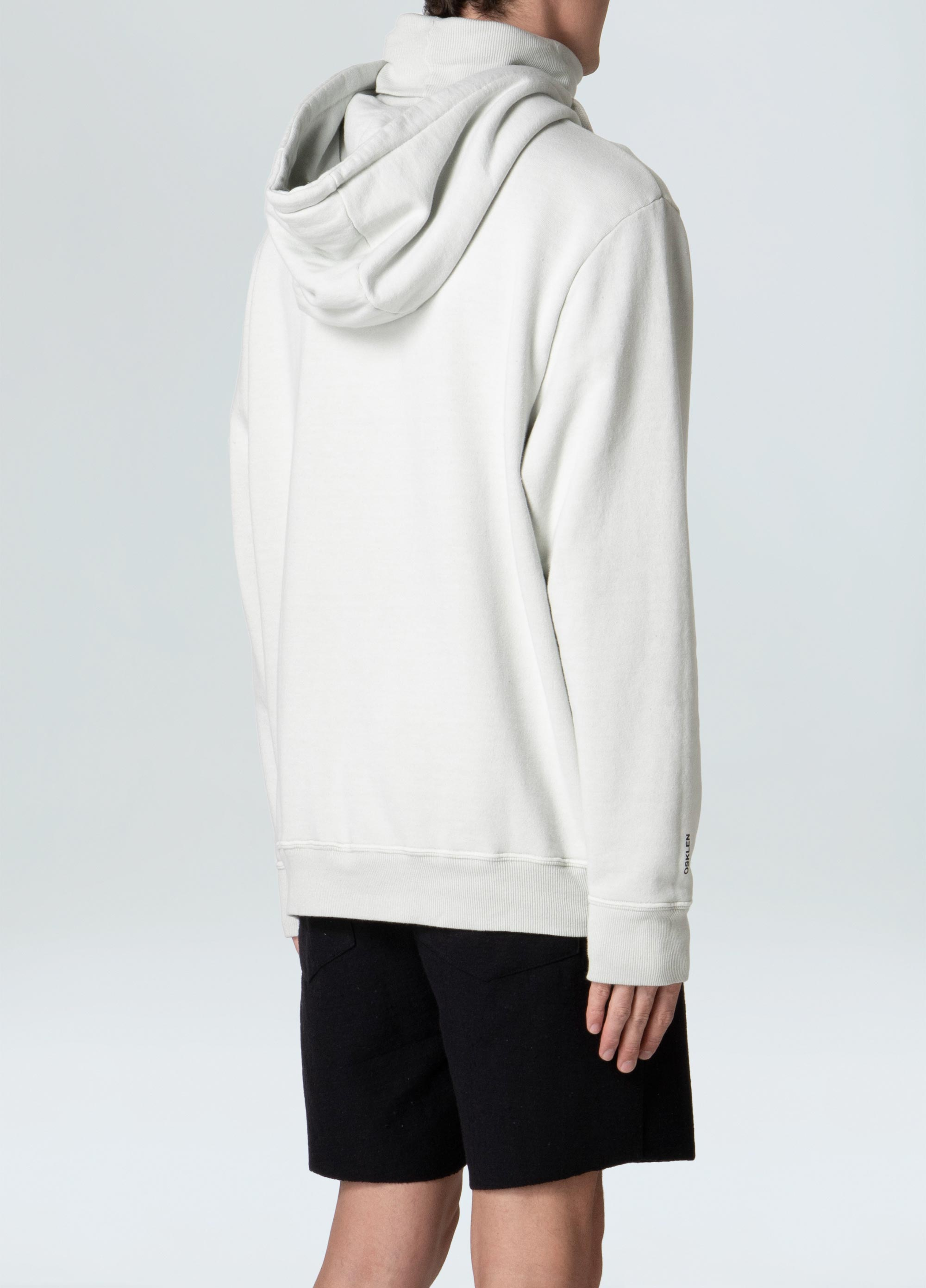 HIGH NECK WAHSED SWEATSHIRT