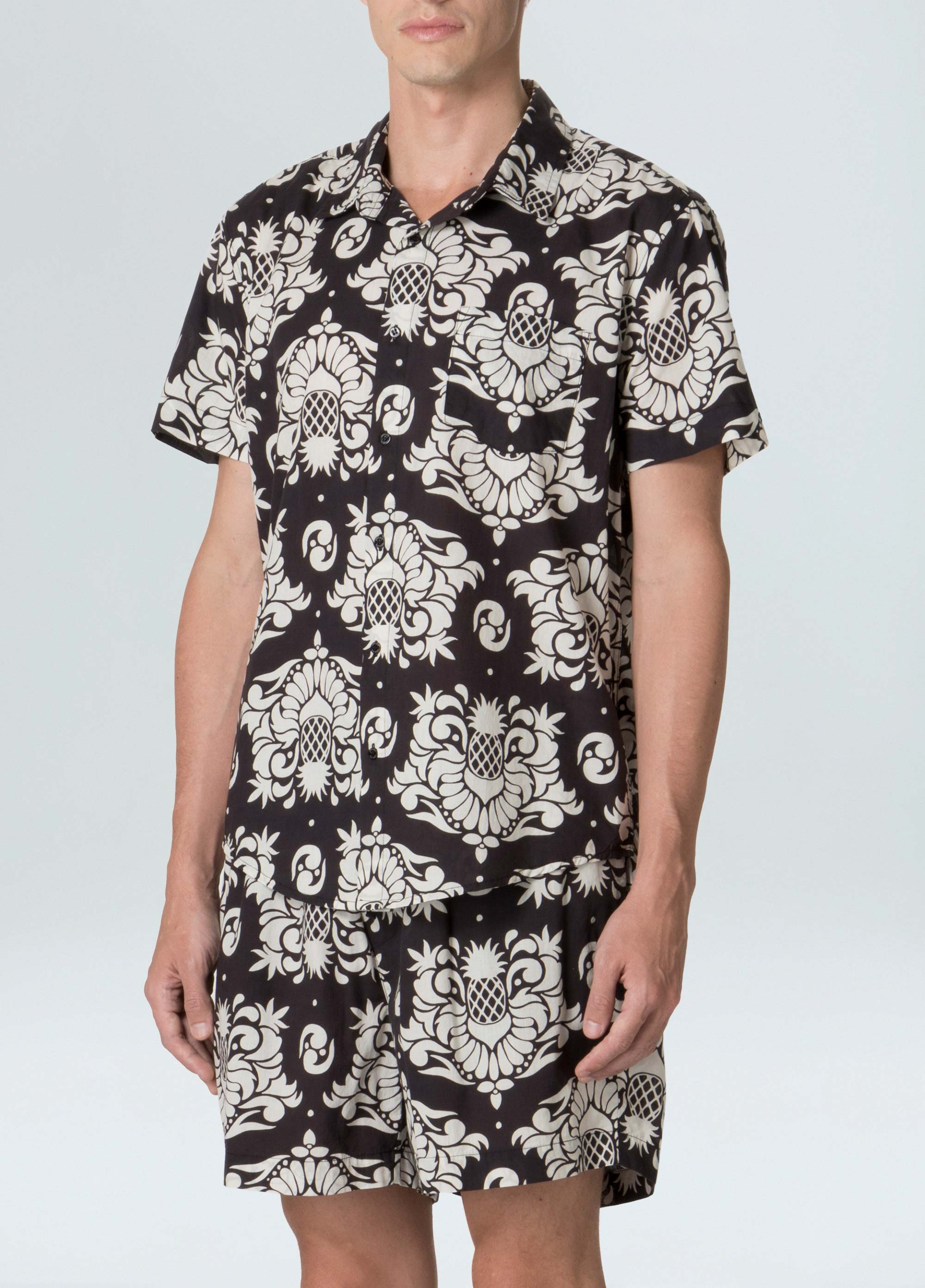 ARABESQUE PINE SHIRT