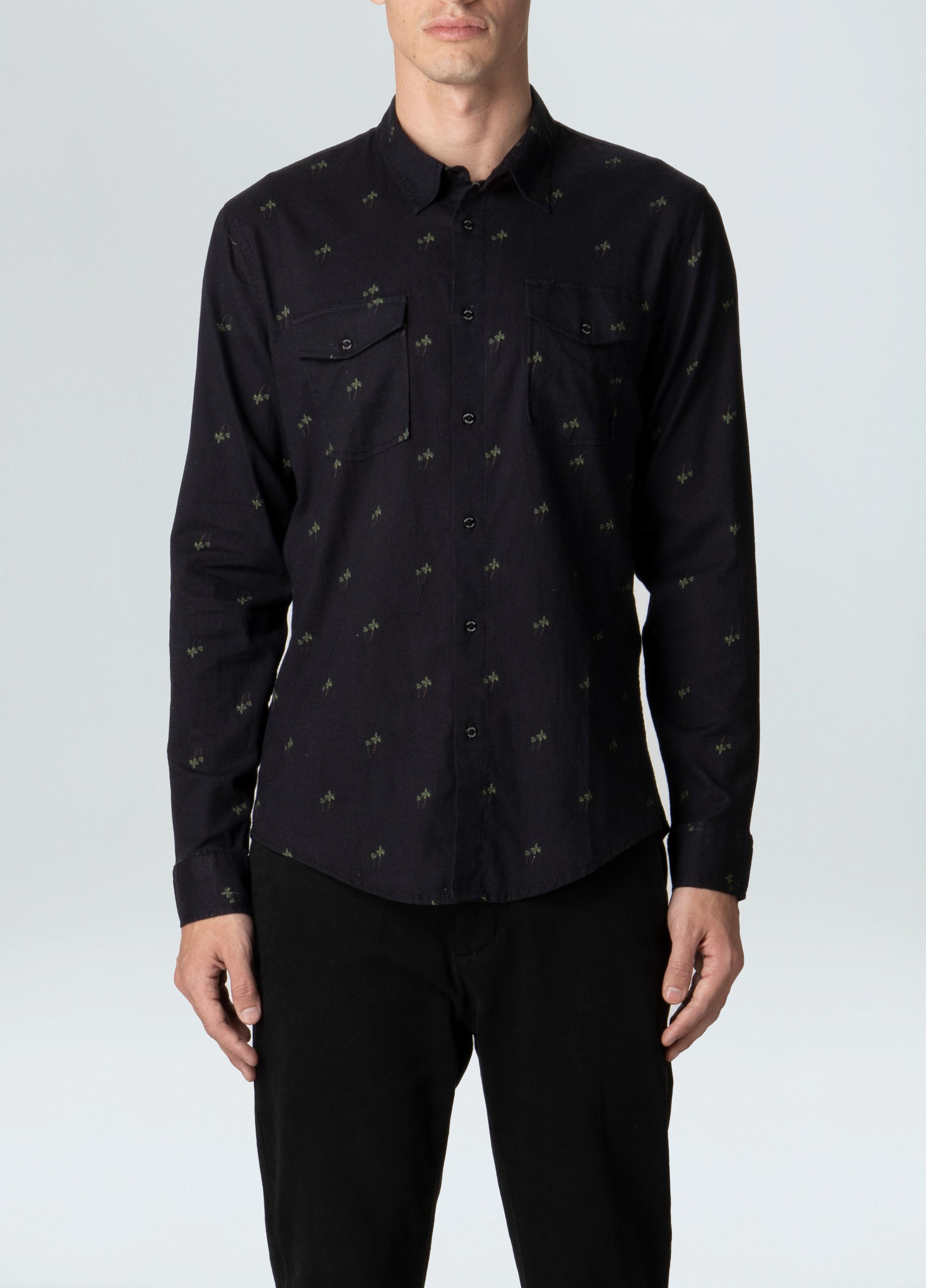 PALM BLACK SHIRT