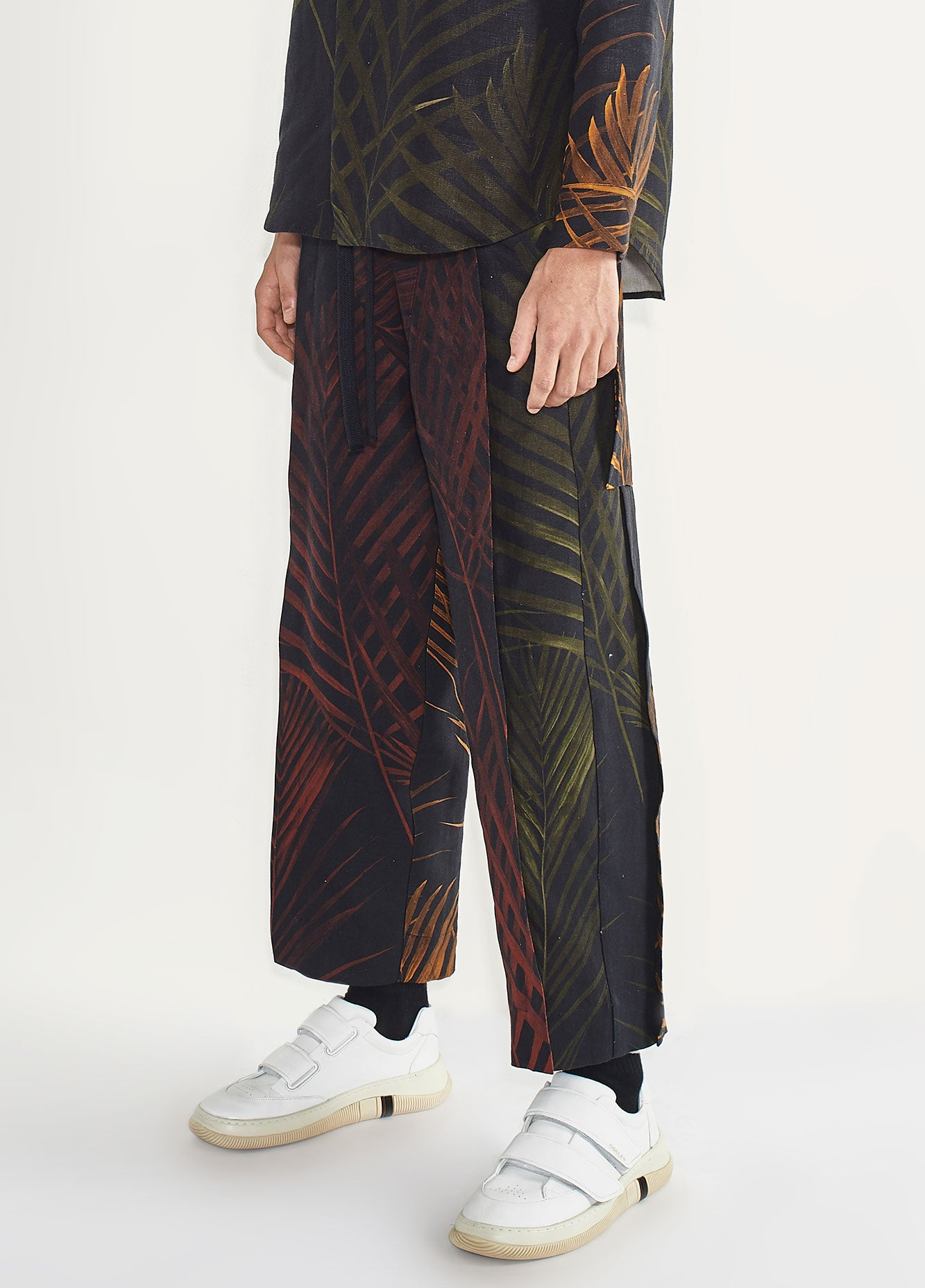 MENS PALM LEAF PANTS