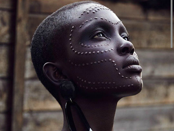 The ancient beauty ritual of Scarification