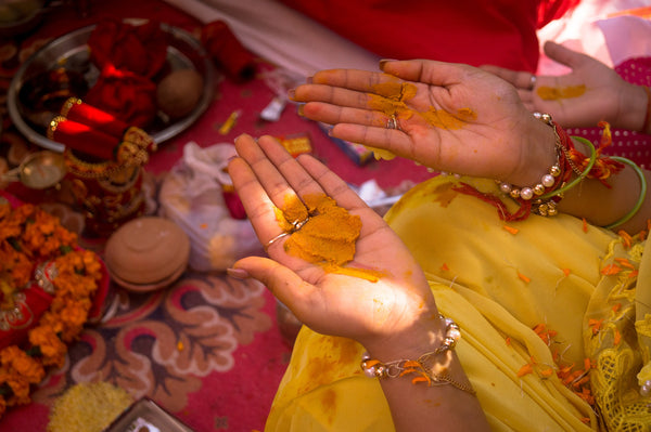 Beauty Ritual - Turmeric and the Haldi ceremony