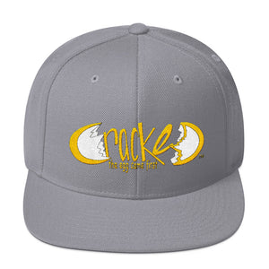 Cracked Snapback Hat