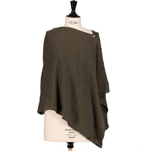 Echarpe Evesome multipositions en maille serrée 100% cachemire - Evesome multi-layered tight-knit scarf 100% cashmere