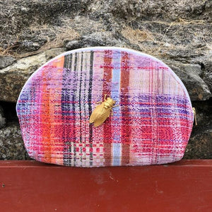 Pochette Eloha Evesome en tweed - Evesome Eloha tweed clutch