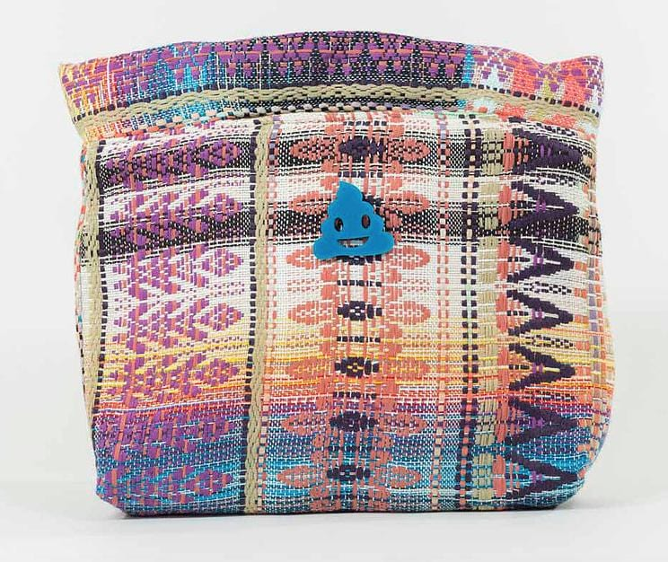 Pochette Agathe Evesome en tweed d'été - Agathe Evesome summer tweed clutch