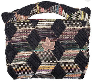 Pochette Agathe Evesome en tweed - Agarhe Evesome tweed clutch